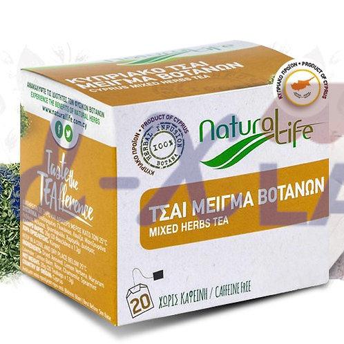 Natural life Mixed herbs tea 1x20s