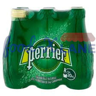 Perrier Sparkling Water 6x20cl