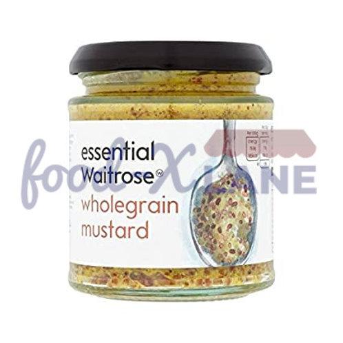 Waitrose Wholegrain mustard 185gr