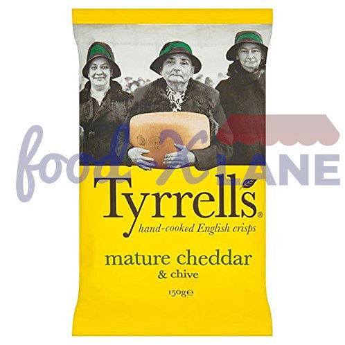 Tyrrell's Mature Cheddar and Chive 150gr