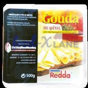 Redda Gouda cheese slice 500gr