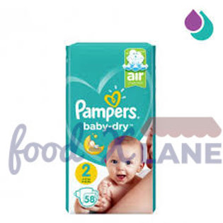 Pampers Baby Dry S2 58pcs