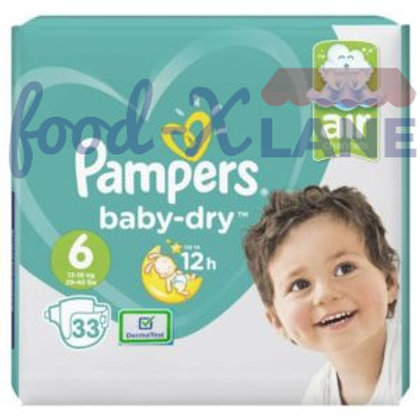 Pampers Baby Dry S6 33pcs