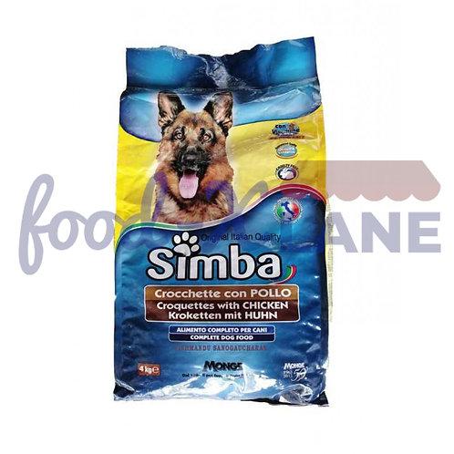 Simba Dog Food Crocchette Chicken 4kg
