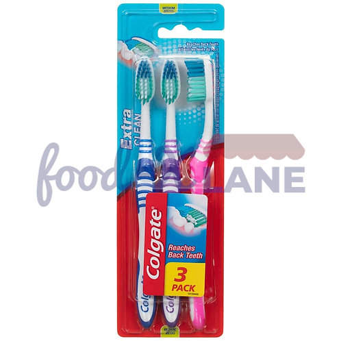 Colgate Toothbrush  extra clean medium 1x 3pcs