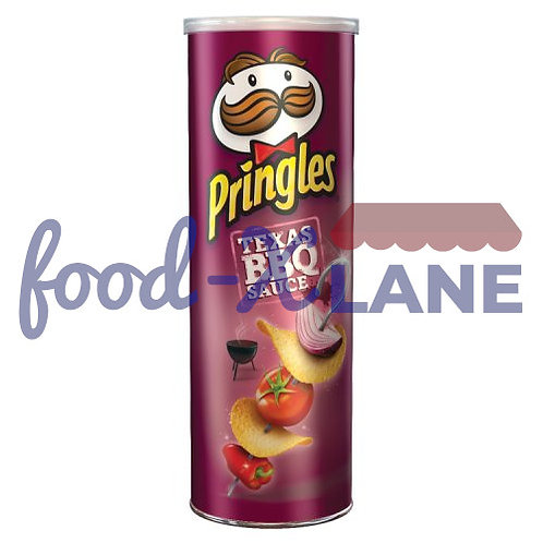 Pringles Texas bbq 1x165gr
