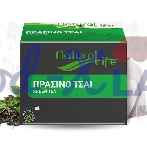 Natural life Green tea 1x20s