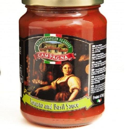 Campagna Tomato & Βasil sauce 350gr