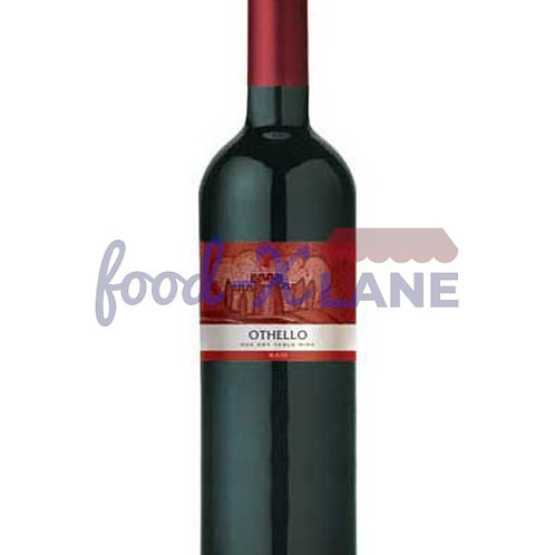 Othello Red Dry Wine 75cl