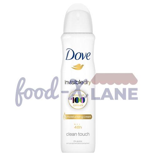 Dove Deodorant spray 150gr invisible