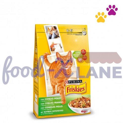 Friskies Cat Food Rabbit-Chicken 2kg