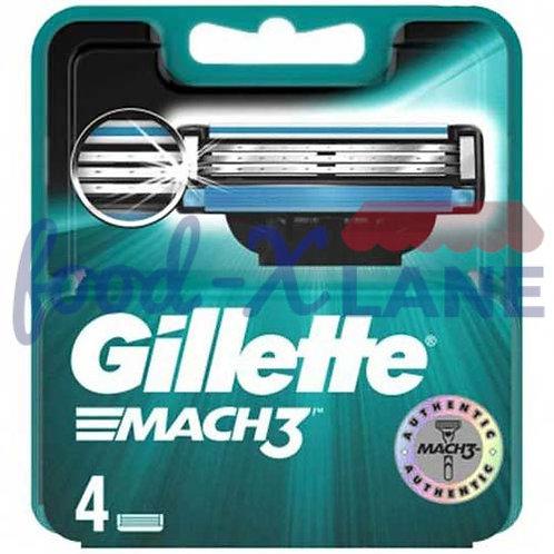 Gillette Mach3 4s