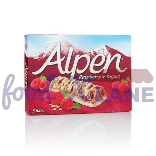 Alpen Cereal Bars Raspberry & Yogurt 145gr