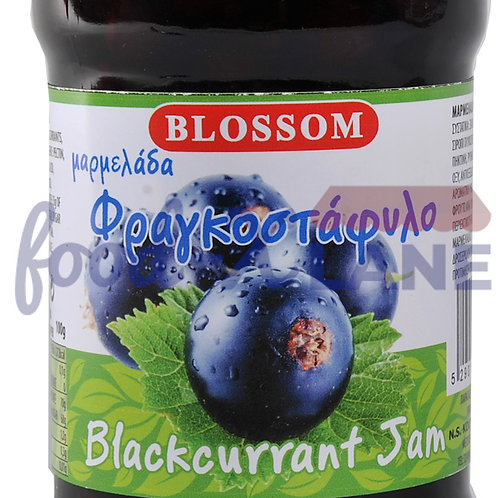 Blossom Blackcurrant jam 370gr