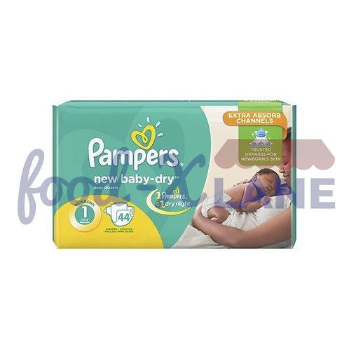 Pampers New Born Baby S1 44pcs