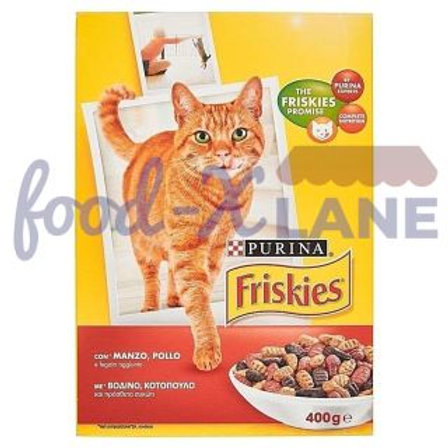 Friskies Cat Food Beef-Chicken 2kg