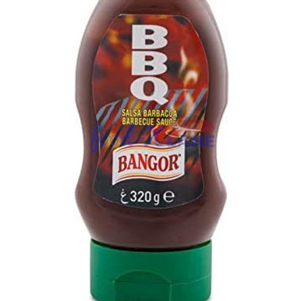 Bangor Barbeque sauce squeezy 320gr