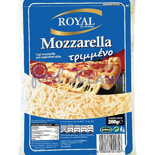 Royal Mozzarella cheese shredded 200gr