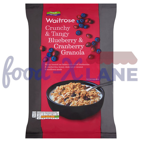 Waitrose Granola blueberry,cranberry 1kg