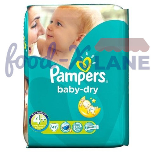 Pampers Baby Dry S4+ 41pcs