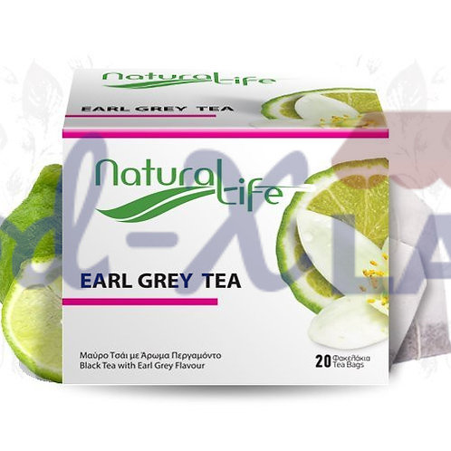 Natural life Earl Grey tea 1x20s