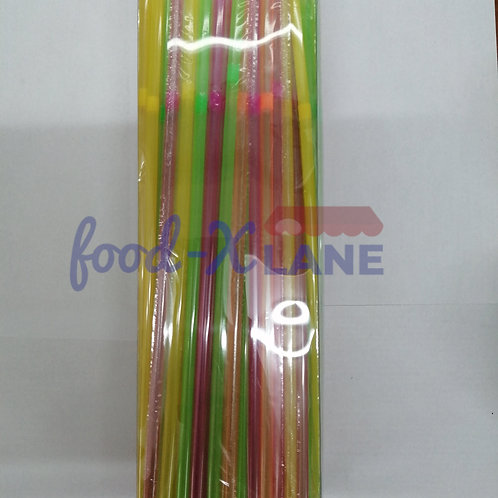 Straws Flexible multicolour 240mmX225s