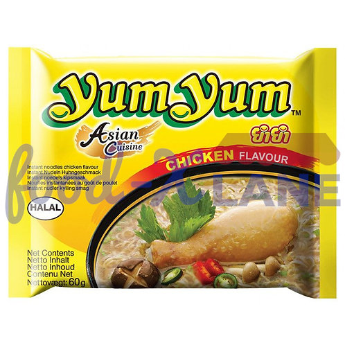 Yum Yum Instant Νoodles Chicken Flavour 60gr