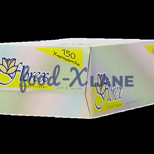 Florex Soft white tissues 150 x 2 ply