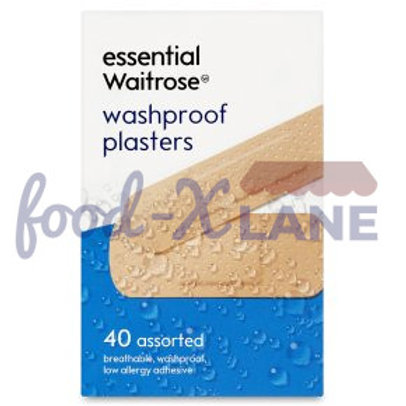 Waitrose Washproof plasters 40s