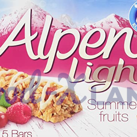 Alpen Light Cereal Bars Summer Fruits 95gr