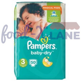 Pampers Baby Dry S3 50pcs