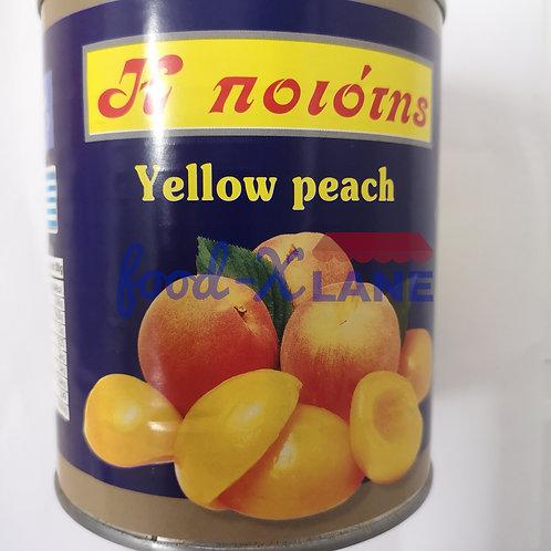 Η ποιότης Peach Halve 850/470gr