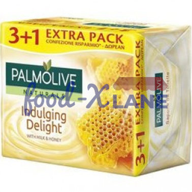 Palmolive soap 90gr 3+1 free - milk & honey
