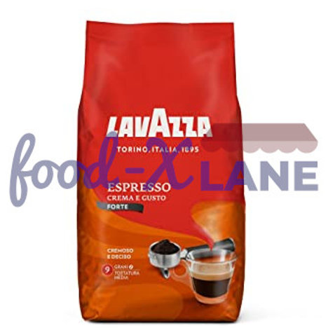 Lavazza Espresso Coffee Beans 1kg Crema e Gusto Forte
