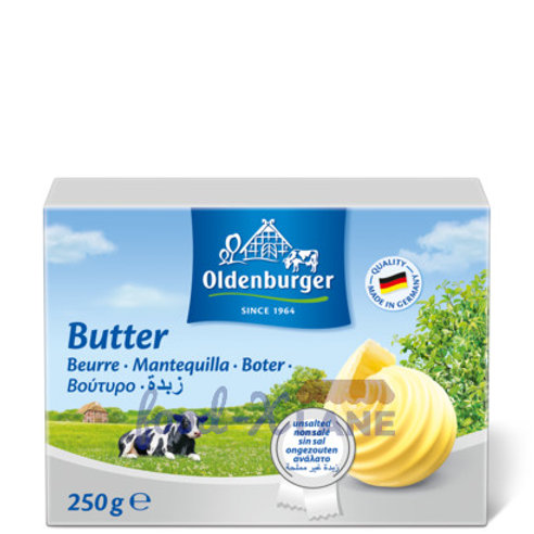 Oldenburger Unsalted Butter  250gr