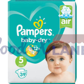 Pampers Baby Dry S5 39pcs