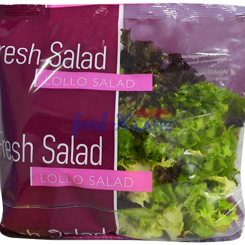 Eurofresh Lollo Salad (lollo rosso. lollo bianta. frisse) 150gr