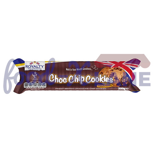 Royalty Chocolate Chips Cookies 200gr