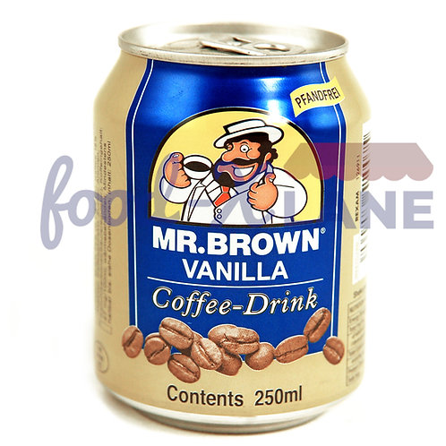 Mr Brown Vanilla 250ml