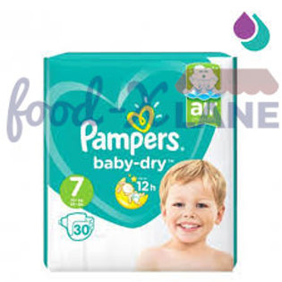 Pampers Baby Dry S7 30pcs