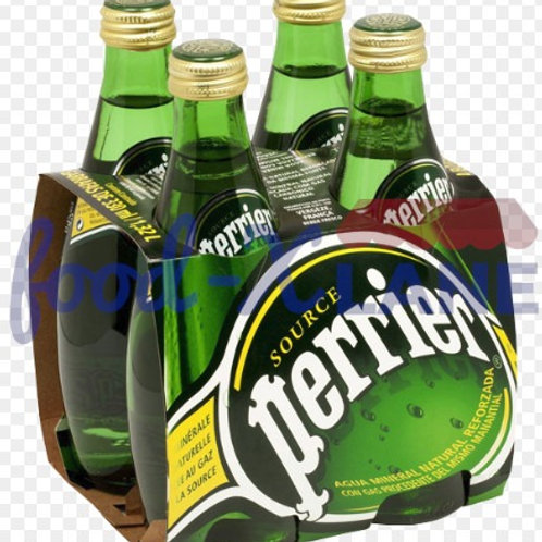 Perrier Sparkling Water 4x33cl