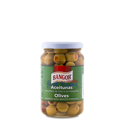 Bangor Olives with Pimiento 360gr