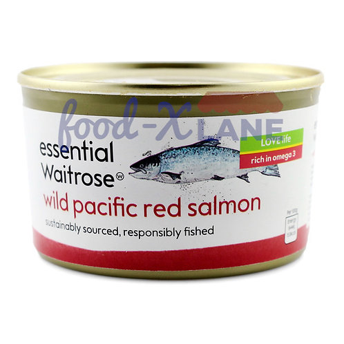 Waitrose Wild pacific red Salmon  213gr (can)