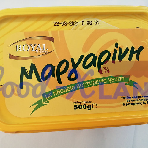 Royal Margarine with butter 500gr