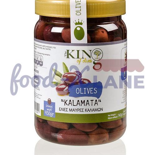 Black Olives Kalamon 450gr