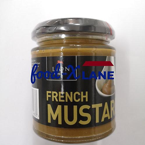 Lion French mustard 185gr