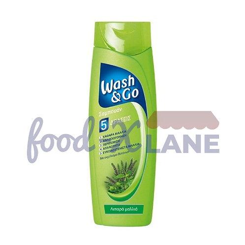 Wash&Go shampoo 400ml greasy hair