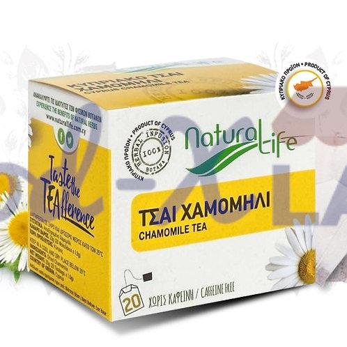 Natural life Chamomile tea 1x20s