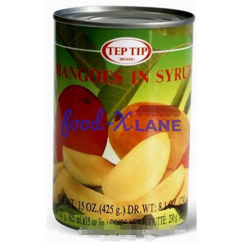 Teptip Mango slices in syrup 425gr(Thailand)
