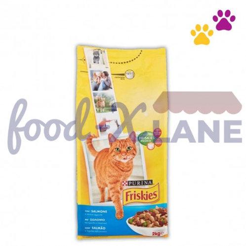 Friskies Cat Food Salmon 2kg